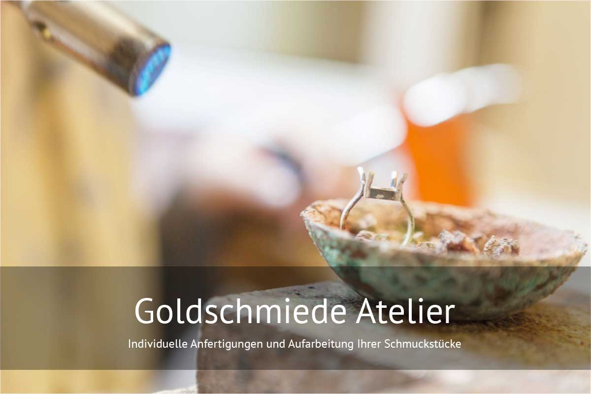 Goldschmiede Atelier Anfertigungen von Schmuck, Schmuck Reparaturen Juwelier Lamers kaiserslautern